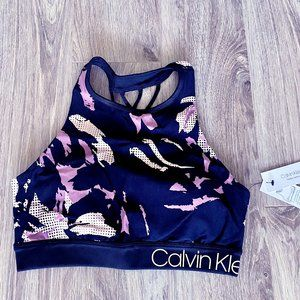 *SOLD*Calvin Klein Strappy-back sport bra